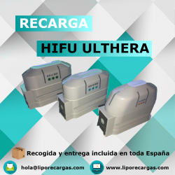 Recarga cartuchos HIFU Ulthera