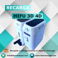 Recargas HIFU 3D 4D